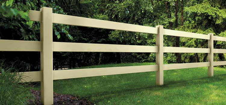 3&4 Rail Ranch Style Protection Fence