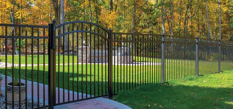 Amethyst Style Protection Fence
