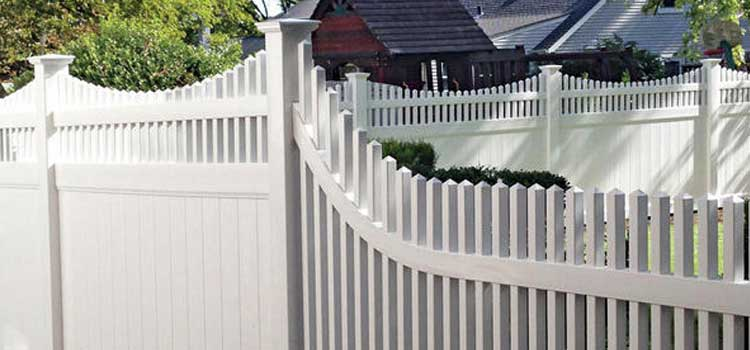 Chesnut Straight Style Protection Fence