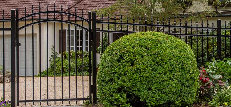 Slate Style Protection Fence
